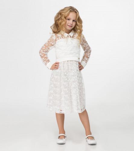Комплект для девочки (сарафан, блузка) 231890