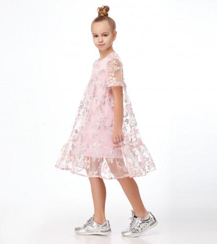 Комплект для девочки (платье, платье) 242493