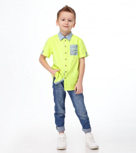 Сорочка верхняя для мальчика 243740