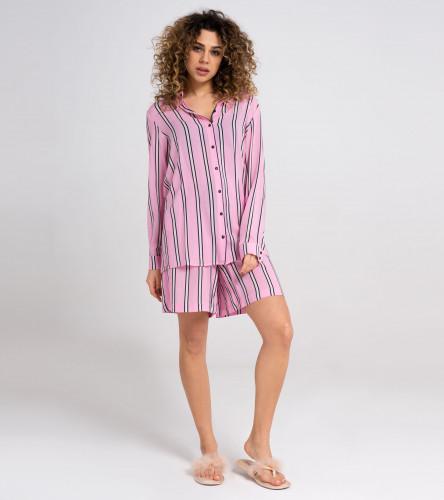 Комплект женский (блузка, шорты) 29520z