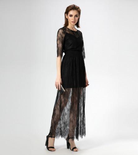 Комплект женский (платье, нижнее платье) ПА466690