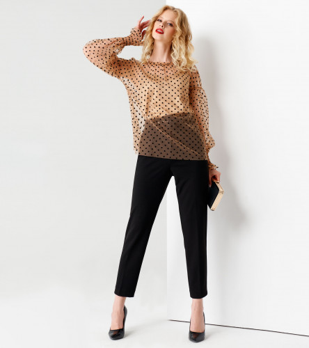 Комплект женский (туника, блузка) ПА64240z