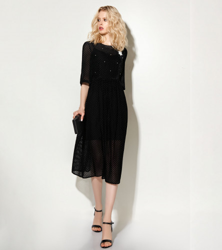 Комплект женский (платье, нижнее платье) 713590