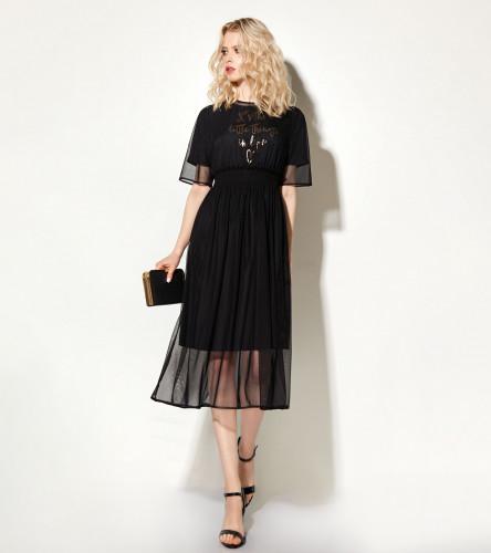 Комплект женский (платье, нижнее платье) 713690